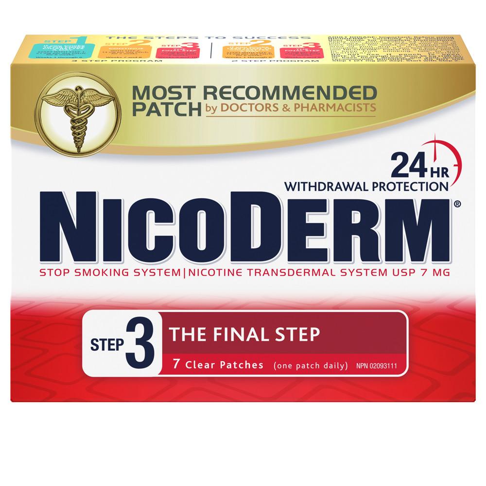 Nicoderm Étape 3